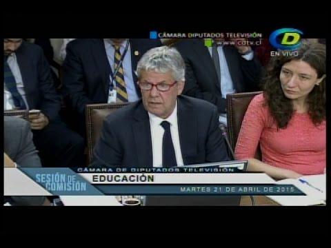 Ministro Eyzaguirre presentó Plan Nacional Docente en el Congreso