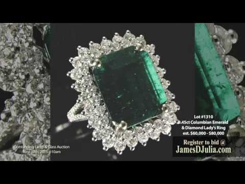 Lamp and Glass Auction - Fine Jewelry - June 18th, 2015