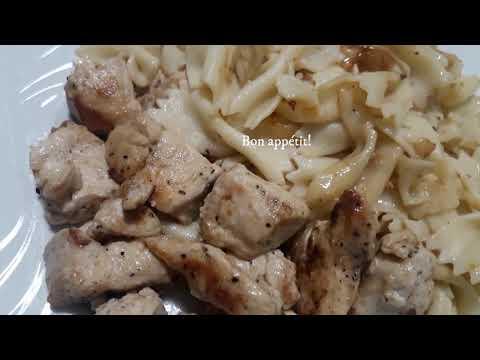 recette-de-poulet-et-pâtes,-simple-et-rapide-à-réaliser,-la-restauration-rapide-qui-fait-du-bien