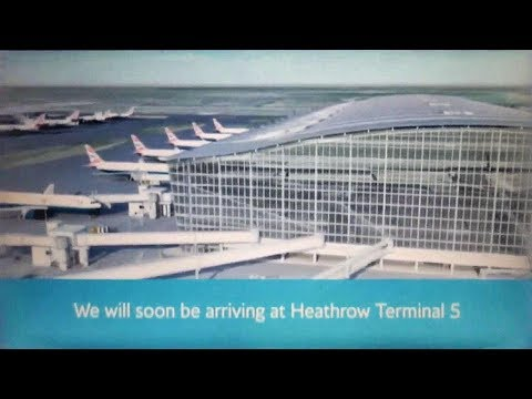 British Airways London Heathrow T5 Arrival Information Video (With clear audio)