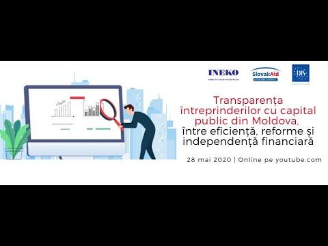 Conferința video: Transparența întreprinderilor cu capital p