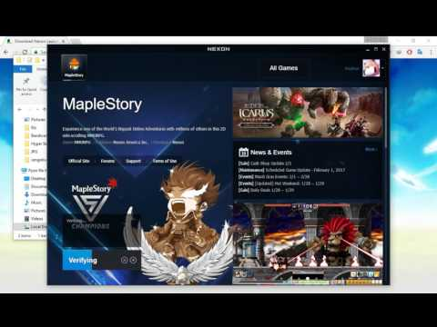 MapleStory to Nexon Launcher