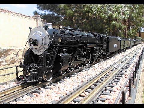Santa Fe Heavyweight Passenger Train