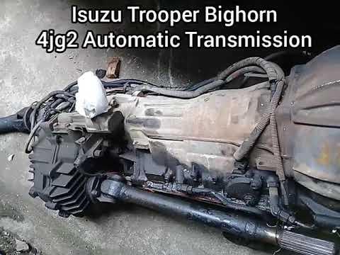 4jg2 Automatic Transmission | Isuzu Trooper Bighorn