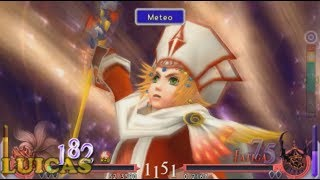 Final Fantasy Dissidia Coliseo Caballero Cebolla Gameplay HD PPSSPP