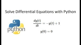 Solve Differential Equations in Python