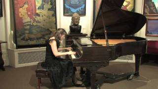 Marina Gorokholinsky, J. Brahms Capriccio Op. 116 No. 7