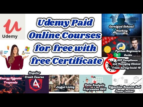 Get Limited Time Udemy Online Courses For Free With Free Certificate L 31 May 2020 Subilink