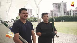 晨光|玩物壮志:本地日本击剑爱好者 聚集切磋剑术