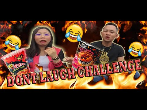 Dont Laugh Challenge With Spicy Ramen !!