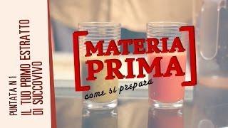 Materia Prima: estratto di succo vivo da arancio, carota e sedano
