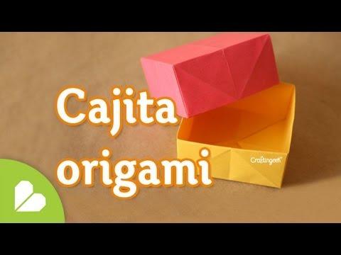 Como hacer Caja Origami BASICA  y FACIL
