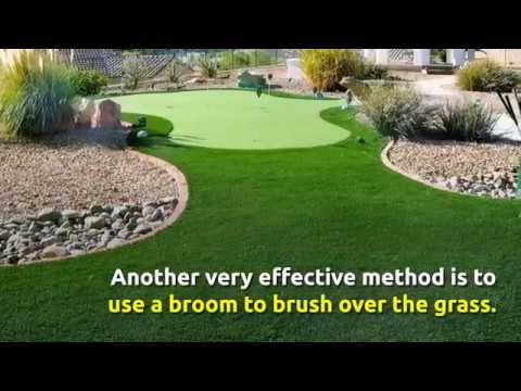 How To Maintain Artificial Grass Lawns