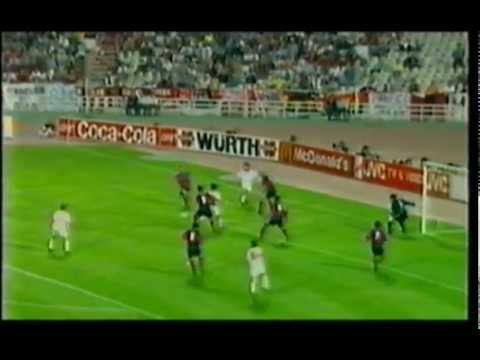 Daniele Massaro Milan Barcellona 4-0 (1994)