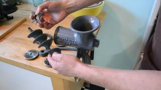 Chop Rite Sausage Stuffer & Meat Grinder: Josh Dusick Review(A product demonstration and review of the Chop Rite Two #35 Sausage Stuffer and #10 Meat Grinder by Josh Dusick of firepit-and-grilling-guru.com., 2016-07-11T19:47:29.000Z)