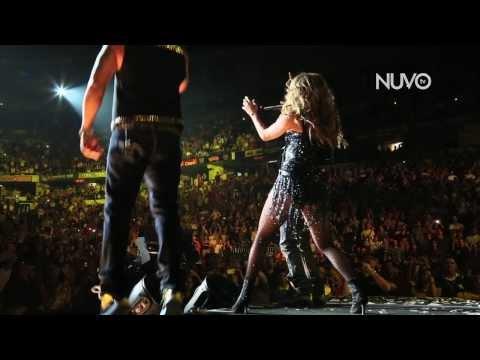 Jennifer Lopez performs with Wisin y Yandel!   A Step Away