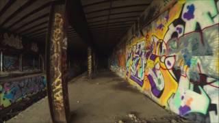 abandoned sedgwick avenue (IRT Nnith Avenue lin) jerome station platform by thecapturelife