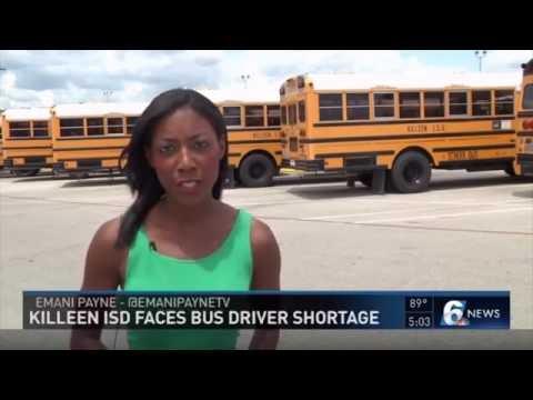 Killeen ISD Faces Bus Driver Shortage