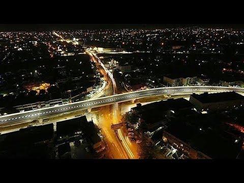 Mencoba Melintasi Jalan Fly Over Simpang Surabaya Banda Aceh Yang Belum Rampung 100 Youtube