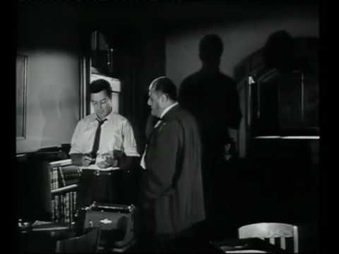 """Escena de """"Agente Especial"""" de Joseph H. Lewis, año 1955"""