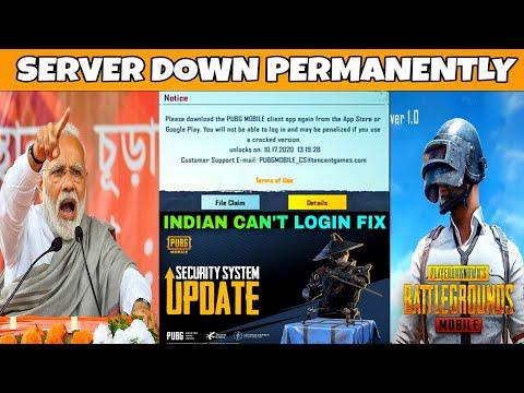 PUBG UNBAN IN INDIA | CLIENT VERIFICATION FAIL IN PUBGM  | PUBG BAN IN INDIA SERVER DOWN ??
