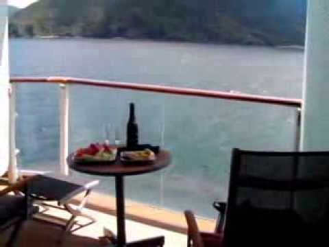 Celebrity Solstice Veranda Room Tour - YouTube