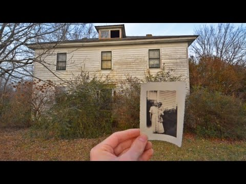 Abandoned 1800s Home w/ old Books & Vintage Pictures still inside -#82