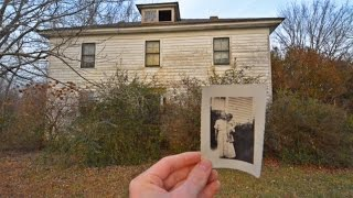 Gambar cover Abandoned 1800s Home w/ old Books & Vintage Pictures still inside -#82
