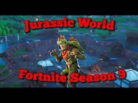 (Dinosaurs) in Fortnite Season 9