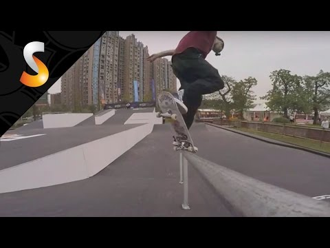 Course Preview Jon COSENTINO - Skateboarding - FISE World CHENGDU 2016