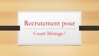 Recrutement pour Court-Métrage ! [Minecraft]