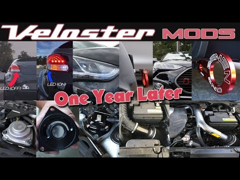 Veloster Mods A Year Later