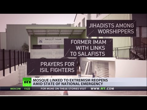 'Security threat' for France: ISIS-linked mosque reopens amid state of emergency