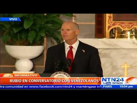 """""""No permitiremos que Venezuela se desmorone"""": vicepresidente de EE. UU., Mike Pence"""