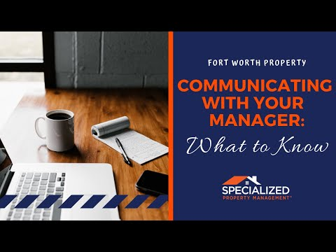 SPECIALIZED PROPERTY MANAGEMENT FORT WORTH - BETTER COMMUNICATION