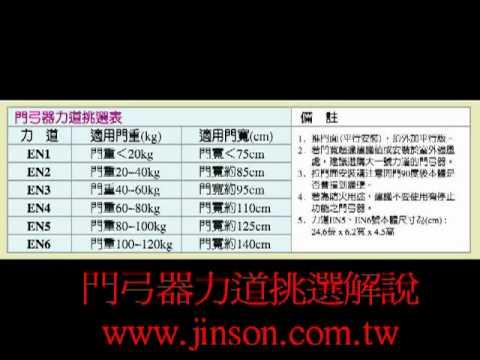 Jinson門弓器 速度調整 Doovi