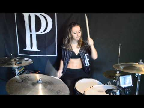 PVRIS Drum Cover Medley - Fire, Ghost, White Noise & More!