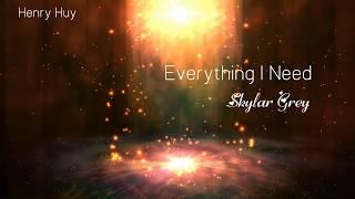 || Vietsub - Lyrics || Everything I Need - Skylar Grey (Aquaman Soundtrack)(Full HD Video)