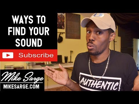 Ways To Find Your Sound (Tips for Music Artists)
