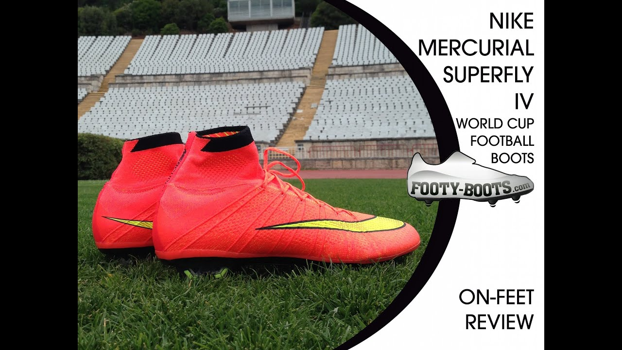 timeless design 6a6ce 342fb Nike Mercurial Superfly IV   Review - Footy Boots