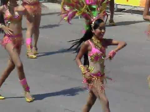バランキージャカーニバル 子供ダンス