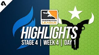 Dallas Fuel vs Houston Outlaws | Overwatch League Highlights OWL Stage 4 Week 4 Day 1