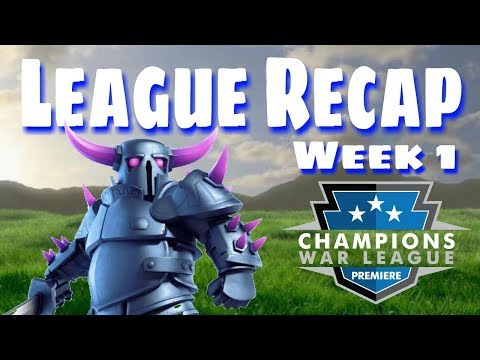 CWL Premiere League Recap | Week 1 HYPE | Must See Attacks