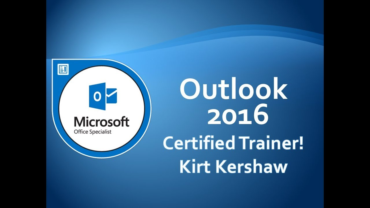 Microsoft Outlook 2016 Emails: Flag an Email Message for Follow Up