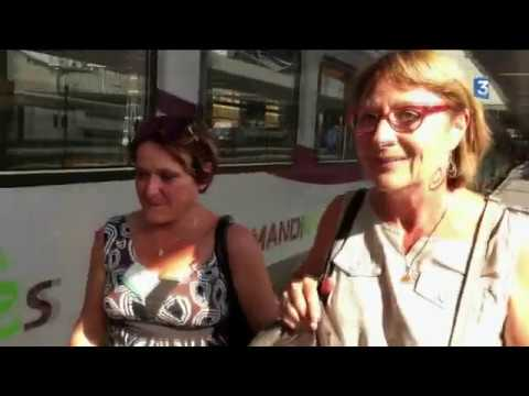 REPORTAGE: Pour les usagers du train Paris-Cherbourg, le quotidien c'est duraille !
