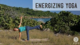 Energizing Yoga Routine: Splash of Synergy (intermediate level)