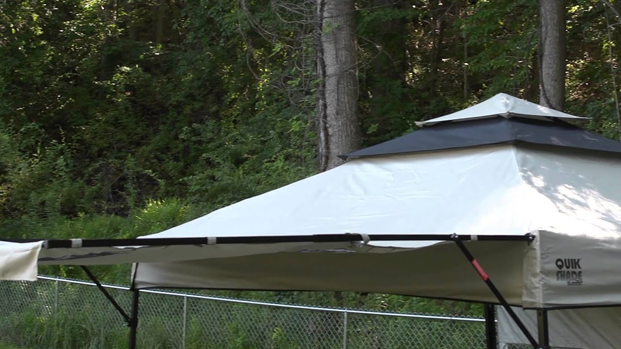 & Bravo Sports | Quik Shade Summit Series Instant Canopy - YouTube