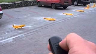 Автоматические парковочные барьеры CAME UNIPARK установленые мною в Черкассах(Автоматические барьеры UNIPARK CAME - ЧП