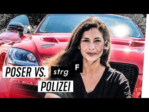 Kontrolle oder Schikane? - Der Konflikt zwischen Autoposern und Polizei | STRG_F
