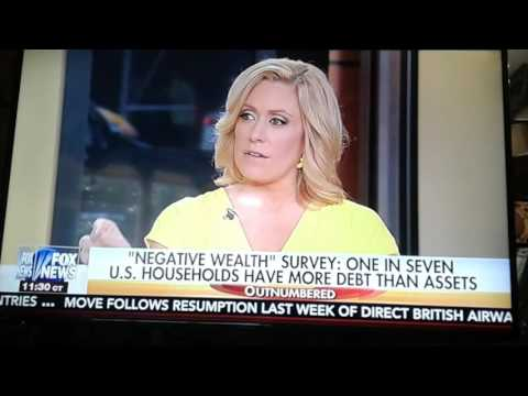Obama,Clinton say economy good,Survey proves wrong ,finds 1 an 7 HOUSEHOLDS ARE IN NEGATIVE WEALTH